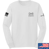 The Gun Collective The Gun Collective Chest Logo Long Sleeve T-Shirt Long Sleeve Small / White by Ballistic Ink - Made in America USA