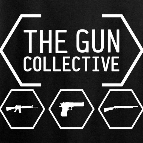 The Gun Collective Ladies The Gun Collective Chest Logo T-Shirt T-Shirts [variant_title] by Ballistic Ink - Made in America USA