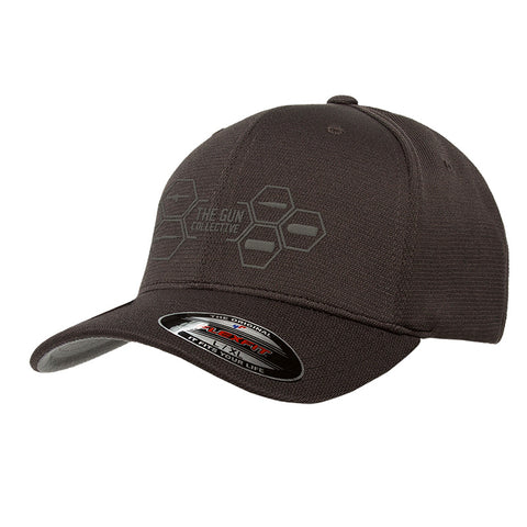 The Gun Collective The Gun Collective Logo Flexfit® Cool & Dry Sport Cap Headwear [variant_title] by Ballistic Ink - Made in America USA