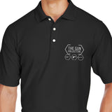 The Gun Collective The Gun Collective Logo Polo Polos [variant_title] by Ballistic Ink - Made in America USA