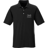 The Gun Collective The Gun Collective Logo Polo Polos Small / Black by Ballistic Ink - Made in America USA
