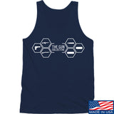 The Gun Collective The Gun Collective Full Logo Tank Tanks SMALL / Navy by Ballistic Ink - Made in America USA