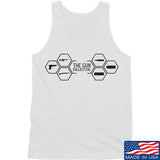 The Gun Collective The Gun Collective Full Logo Tank Tanks SMALL / White by Ballistic Ink - Made in America USA