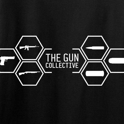 The Gun Collective The Gun Collective Full Logo T-Shirt T-Shirts [variant_title] by Ballistic Ink - Made in America USA