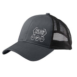 The Gun Collective The Gun Collective Side Logo Snapback Cap Headwear Black/Black by Ballistic Ink - Made in America USA