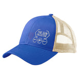 The Gun Collective The Gun Collective Side Logo Snapback Cap Headwear Royal/White by Ballistic Ink - Made in America USA