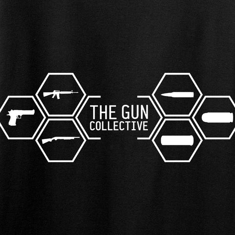 The Gun Collective Ladies The Gun Collective Full Logo T-Shirt T-Shirts [variant_title] by Ballistic Ink - Made in America USA