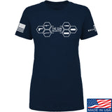 The Gun Collective Ladies The Gun Collective Full Logo T-Shirt T-Shirts SMALL / Navy by Ballistic Ink - Made in America USA