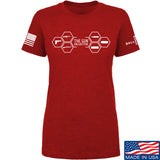 The Gun Collective Ladies The Gun Collective Full Logo T-Shirt T-Shirts SMALL / Red by Ballistic Ink - Made in America USA