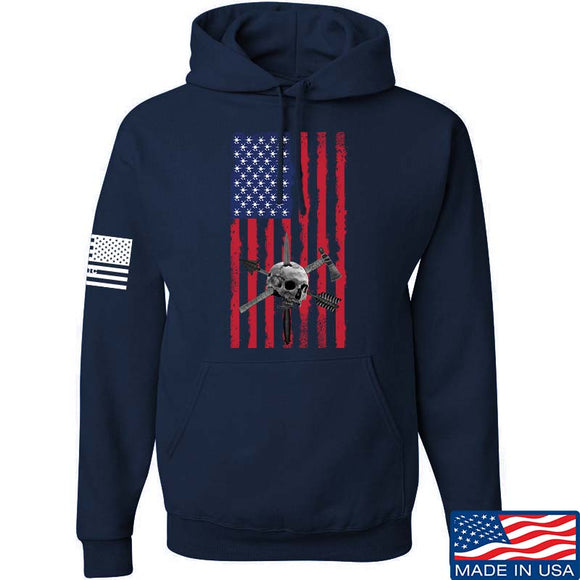 Tactical Rifleman US Flag Hoodie