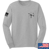 Tactical Rifleman Chest Logo Long Sleeve T-Shirt