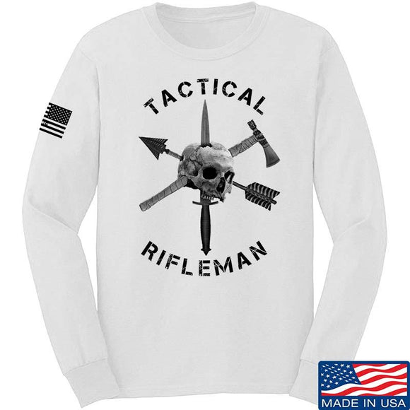 Tactical Rifleman Full Logo Long Sleeve T-Shirt
