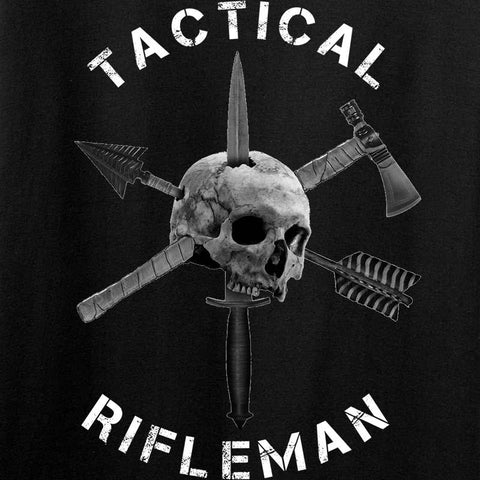 Tactical Rifleman Full Logo Tank