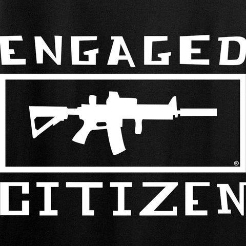Tactical Walls Engaged Citizen Long Sleeve T-Shirt Long Sleeve [variant_title] by Ballistic Ink - Made in America USA