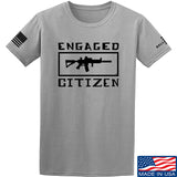 Tactical Walls Engaged Citizen T-Shirt T-Shirts Small / Light Grey by Ballistic Ink - Made in America USA