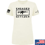 Tactical Walls Ladies Engaged Citizen T-Shirt T-Shirts SMALL / Cream by Ballistic Ink - Made in America USA