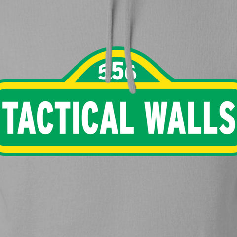 Tactical Walls Tactical Walls In Sesame Street Hoodie Hoodies [variant_title] by Ballistic Ink - Made in America USA
