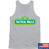 Tactical Walls Tactical Walls In Sesame Street Tank Tanks SMALL / Light Grey by Ballistic Ink - Made in America USA