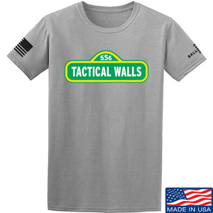 Tactical Walls Tactical Walls In Sesame Street T-Shirt T-Shirts Small / Light Grey by Ballistic Ink - Made in America USA