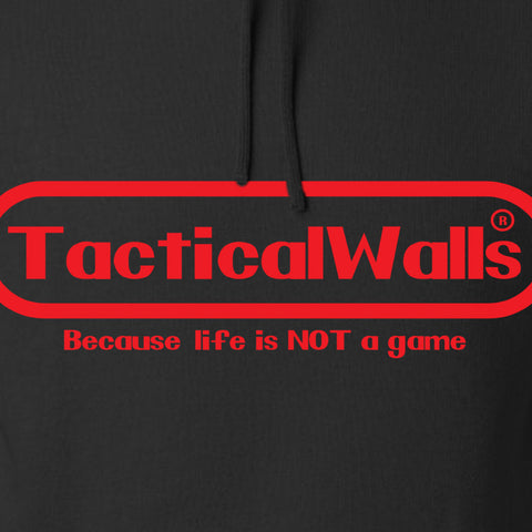 Tactical Walls Tactical Walls Nintendo Hoodie Hoodies [variant_title] by Ballistic Ink - Made in America USA