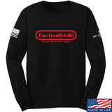 Tactical Walls Tactical Walls Nintendo Long Sleeve T-Shirt Long Sleeve Small / Black by Ballistic Ink - Made in America USA