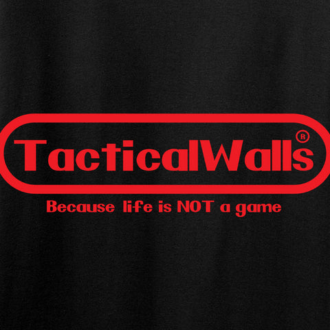 Tactical Walls Tactical Walls Nintendo Long Sleeve T-Shirt Long Sleeve [variant_title] by Ballistic Ink - Made in America USA