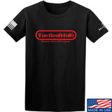 Tactical Walls Tactical Walls Nintendo T-Shirt T-Shirts Small / Black by Ballistic Ink - Made in America USA