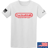 Tactical Walls Tactical Walls Nintendo T-Shirt T-Shirts Small / White by Ballistic Ink - Made in America USA