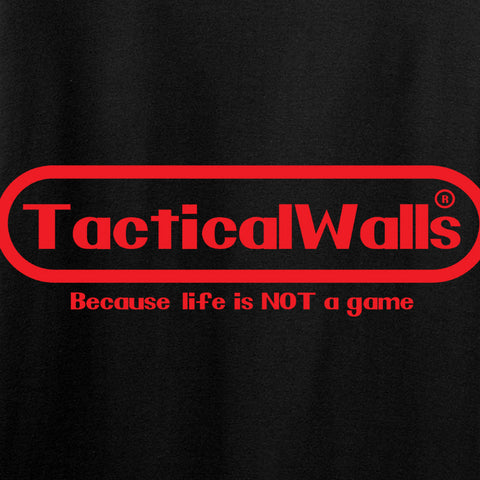 Tactical Walls Ladies Tactical Walls Nintendo T-Shirt T-Shirts [variant_title] by Ballistic Ink - Made in America USA