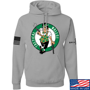 Tactical Walls Tactical Celtic Guy Hoodie Hoodies Small / Light Grey by Ballistic Ink - Made in America USA