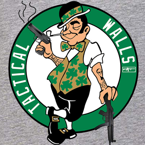 Tactical Walls Ladies Tactical Celtic Guy V-Neck T-Shirts, V-Neck [variant_title] by Ballistic Ink - Made in America USA