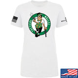 Tactical Walls Ladies Tactical Celtic Guy T-Shirt T-Shirts SMALL / White by Ballistic Ink - Made in America USA