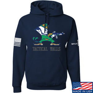 Tactical Walls Tactical Fighting Irish Hoodie Hoodies Small / Light Grey by Ballistic Ink - Made in America USA