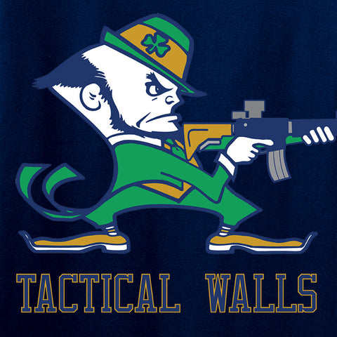 Tactical Walls Tactical Fighting Irish Long Sleeve T-Shirt Long Sleeve [variant_title] by Ballistic Ink - Made in America USA