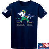 Tactical Walls Tactical Fighting Irish T-Shirt T-Shirts Small / Navy by Ballistic Ink - Made in America USA