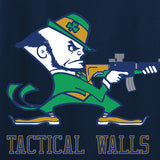 Tactical Walls Ladies Tactical Fighting Irish V-Neck T-Shirts, V-Neck [variant_title] by Ballistic Ink - Made in America USA