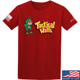 Tactical Walls Tactical Lucky Charm T-Shirt T-Shirts Small / Red by Ballistic Ink - Made in America USA