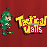 Tactical Walls Ladies Tactical Lucky Charm V-Neck T-Shirts, V-Neck [variant_title] by Ballistic Ink - Made in America USA