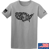 Tactical Walls United States of Awesome T-Shirt T-Shirts Small / Light Grey by Ballistic Ink - Made in America USA