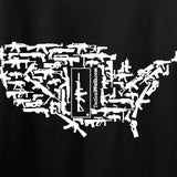 Tactical Walls Ladies United States of Awesome T-Shirt T-Shirts [variant_title] by Ballistic Ink - Made in America USA