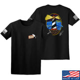 Tattooed n Southern Lighthouse T-Shirt T-Shirts Small / Black by Ballistic Ink - Made in America USA