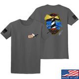 Tattooed n Southern Lighthouse T-Shirt T-Shirts Small / Charcoal by Ballistic Ink - Made in America USA