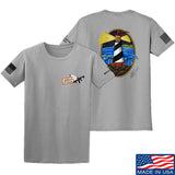 Tattooed n Southern Lighthouse T-Shirt T-Shirts Small / Light Gray by Ballistic Ink - Made in America USA