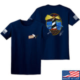 Tattooed n Southern Lighthouse T-Shirt T-Shirts Small / Navy by Ballistic Ink - Made in America USA