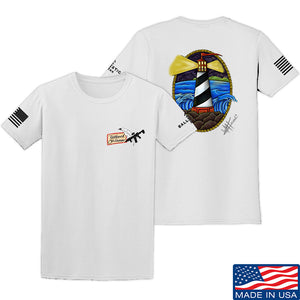 Tattooed n Southern Lighthouse T-Shirt T-Shirts Small / Military Green by Ballistic Ink - Made in America USA