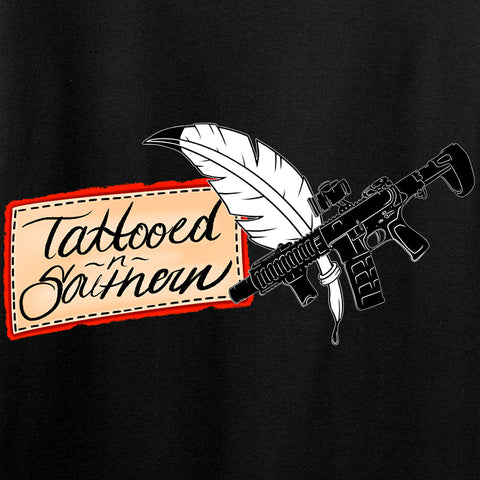 Tattooed n Southern Ladies Lighthouse T-Shirt T-Shirts [variant_title] by Ballistic Ink - Made in America USA