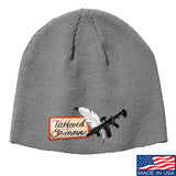 Tattooed n Southern Tattooed n Southern Logo Beanie Headwear Grey by Ballistic Ink - Made in America USA