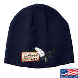 Tattooed n Southern Tattooed n Southern Logo Beanie Headwear Navy by Ballistic Ink - Made in America USA