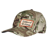 Tattooed n Southern Tattooed n Southern Label Logo Flexfit® Multicam® Trucker Cap Headwear [variant_title] by Ballistic Ink - Made in America USA