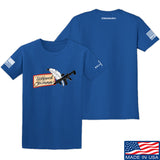 Tattooed n Southern Tattooed n Southern Logo T-Shirt T-Shirts Small / Blue by Ballistic Ink - Made in America USA